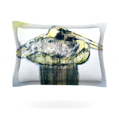 KESS InHouse Oldtimer by Josh Serafin Featherweight Pillow Sham Size: Queen, Fabric: Cotton