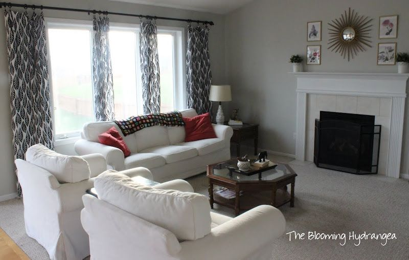 Benjamin Moore Gray Owl  Involving Color Paint Color Blog Best Light Colored Living Rooms Decorating Design