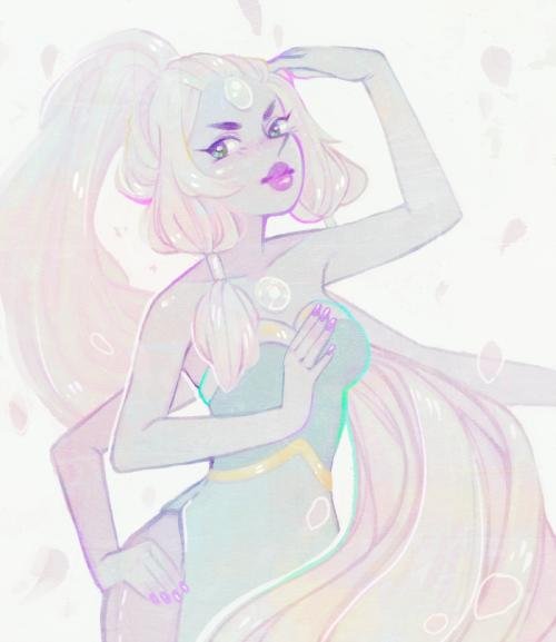 Opal - Steven Universe Fanart - Digital Art
