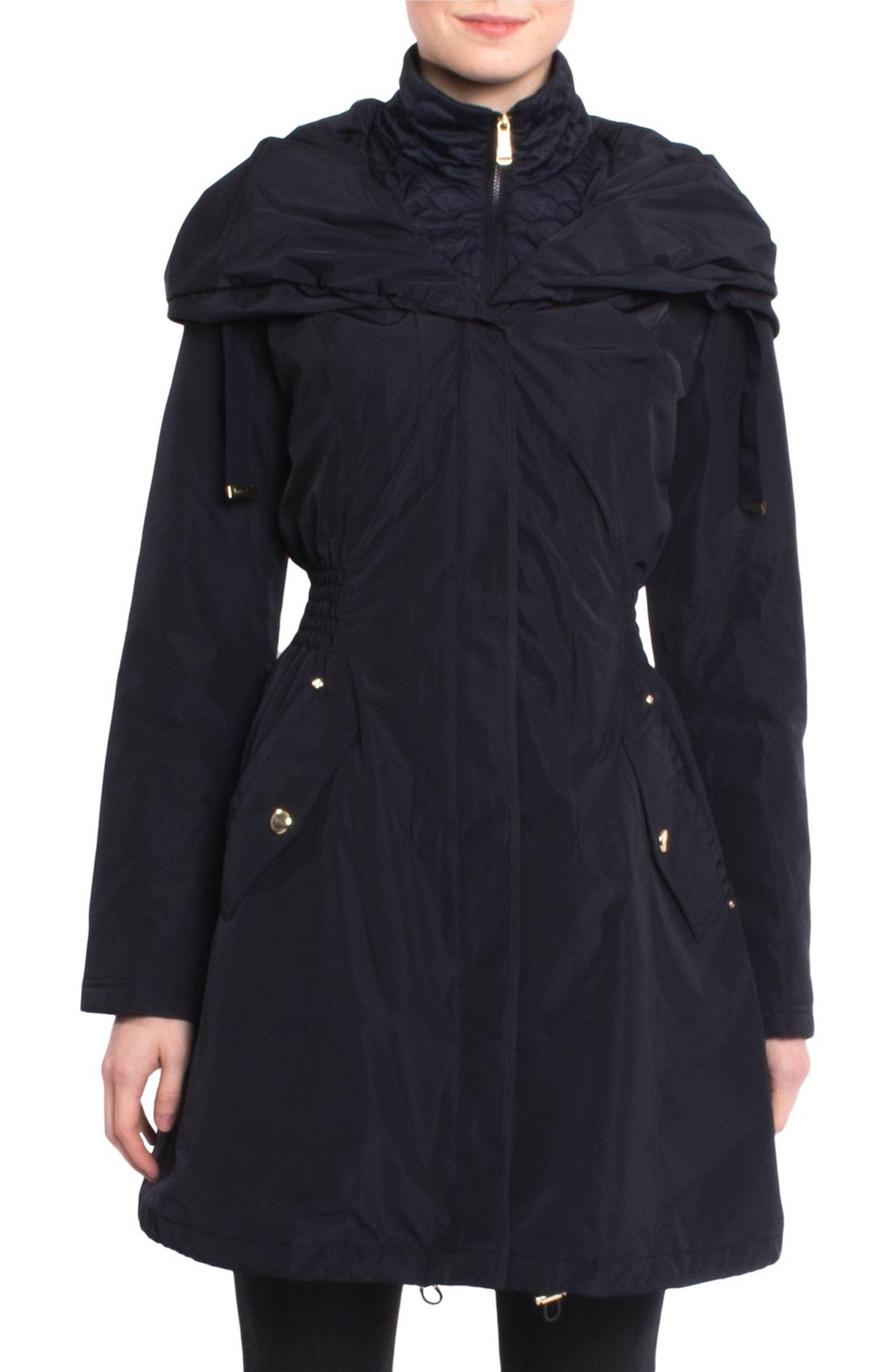 Laundry By Shelli Segal Pillow Collar Raincoat Raincoat Laundry
