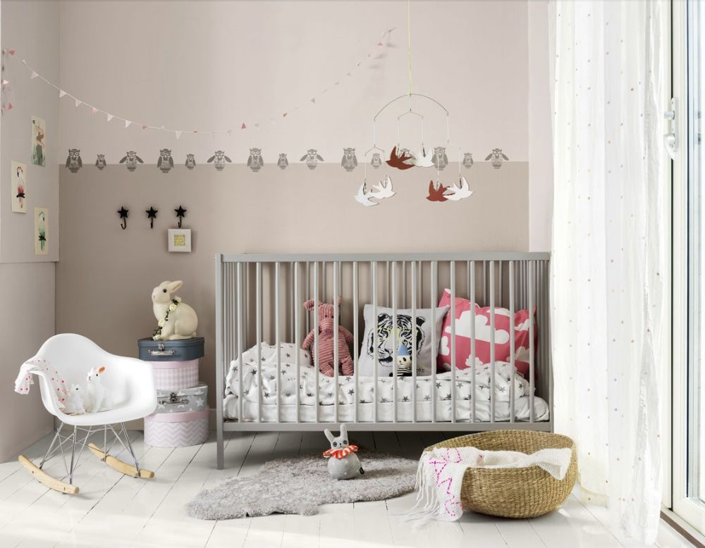Soft And Calm Colors For The Baby This Lovely Room Is Painted In Pink