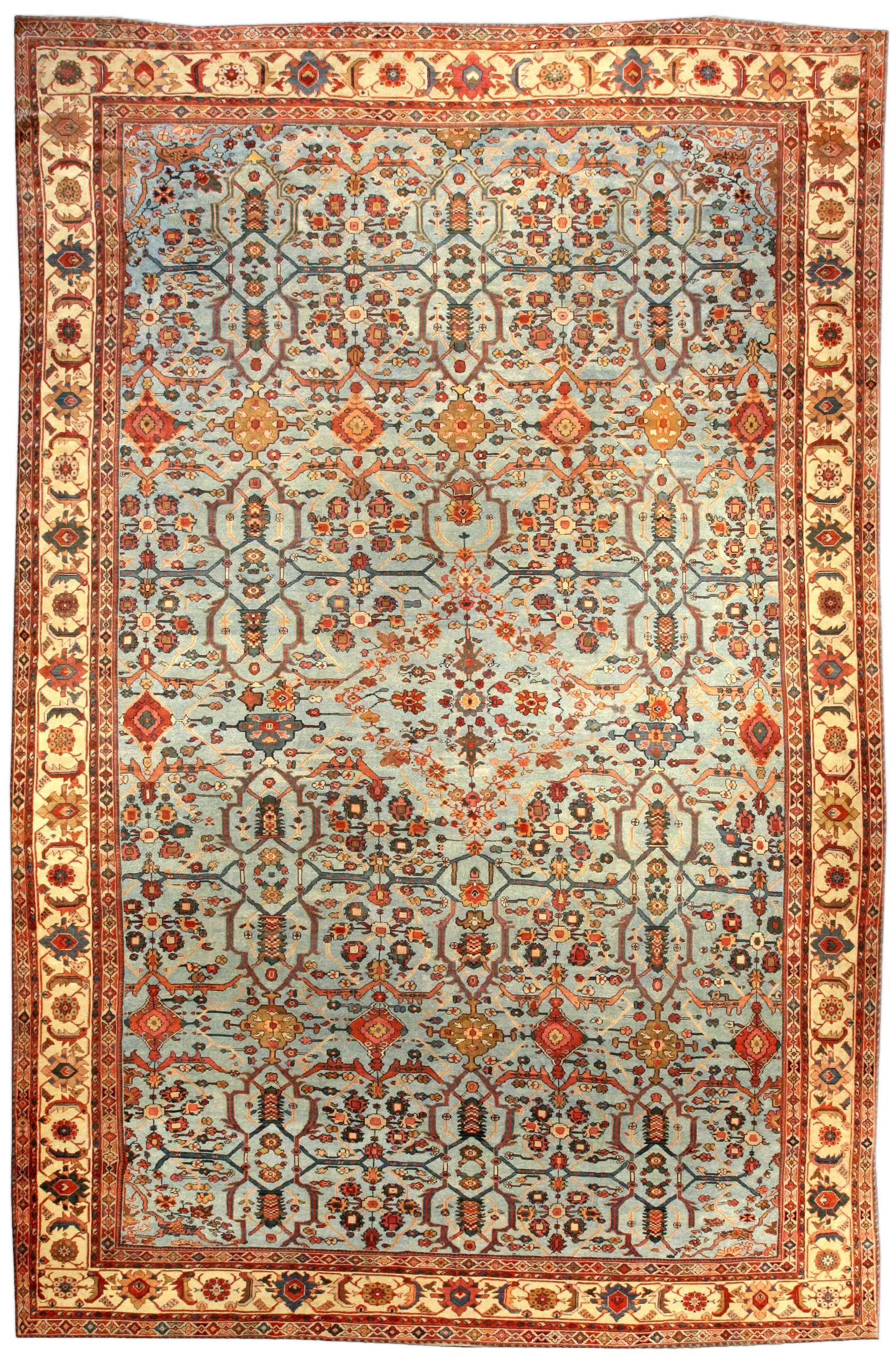 Iranian Carpet Persian Sultanabad Rug Antique Bb3941 By Doris Leslie Blau