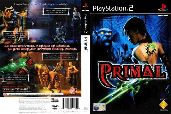 COVERS BOX SK ::: primal (ps2) - high quality DVD / Blueray