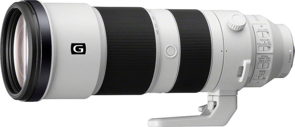 Sony 200 600mm F 5 6 6 3 G Oss Optical Telephoto Zoom Lens For Nex Fs700 White Black Sel200600g Best Buy In 2021 Zoom Lens Telephoto Zoom Lens Best Camera Lenses