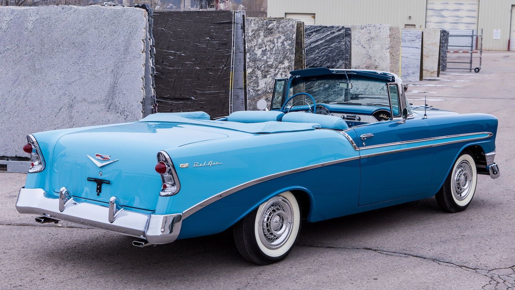 1956 Chevrolet Bel Air Convertible Classic Cars Cool Old Cars Chevrolet Bel Air