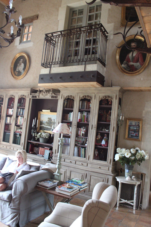 Interior Design, Decoration, Loft, Furniture, Vintage French Design...house.  Provence ...