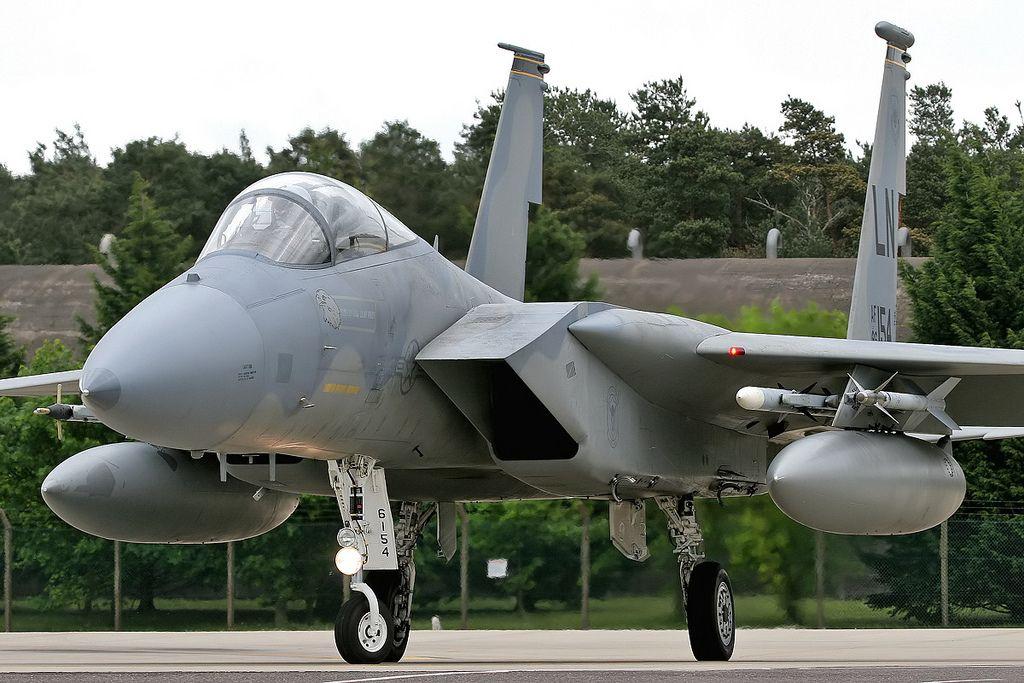 86-0154/LN F-15C 48th FW, 493rd FS, RAF Lakenheath | by Stuart Freer - Touchdown Aviation