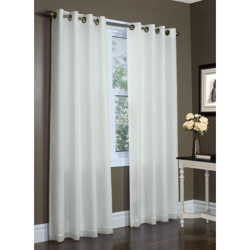 Rhapsody thermavoile lined grommet curtain grommet curtains