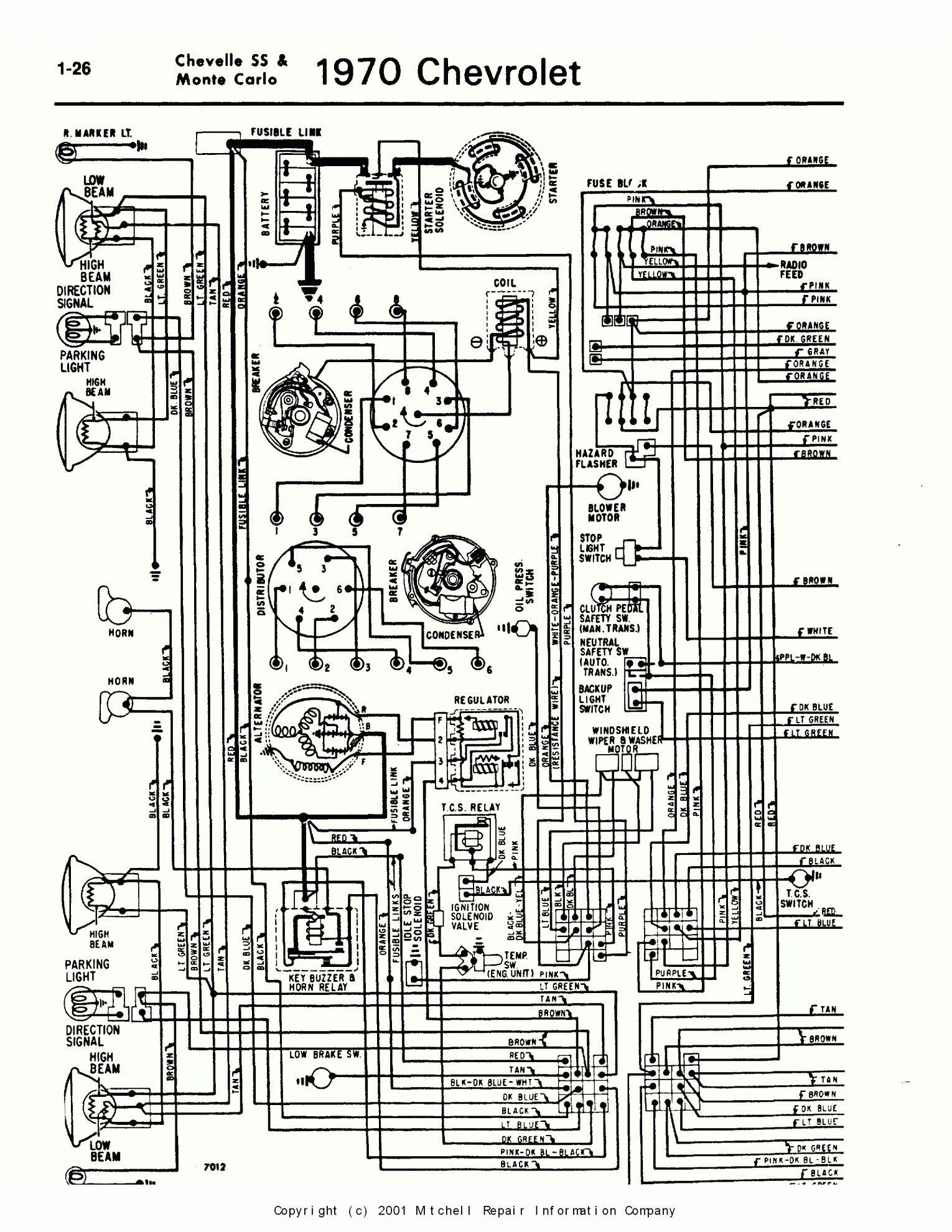 16 1969 Chevelle Engine Wiring Harness Diagram 1970 Chevelle Chevelle Wire