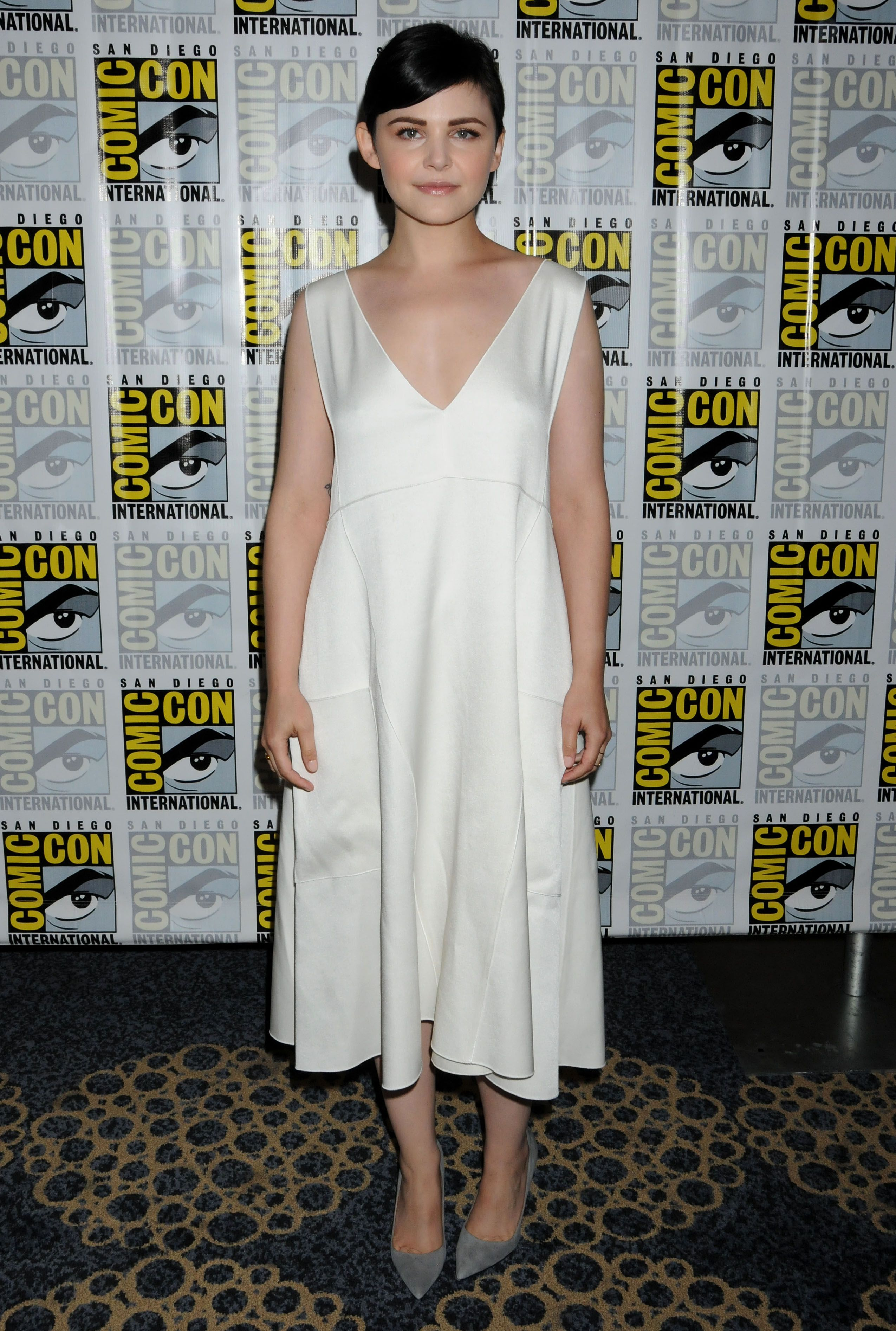 Ginnifer Goodwin @ Once Upon A Time panel at Comic-Con in San Diego - 7/20/2013