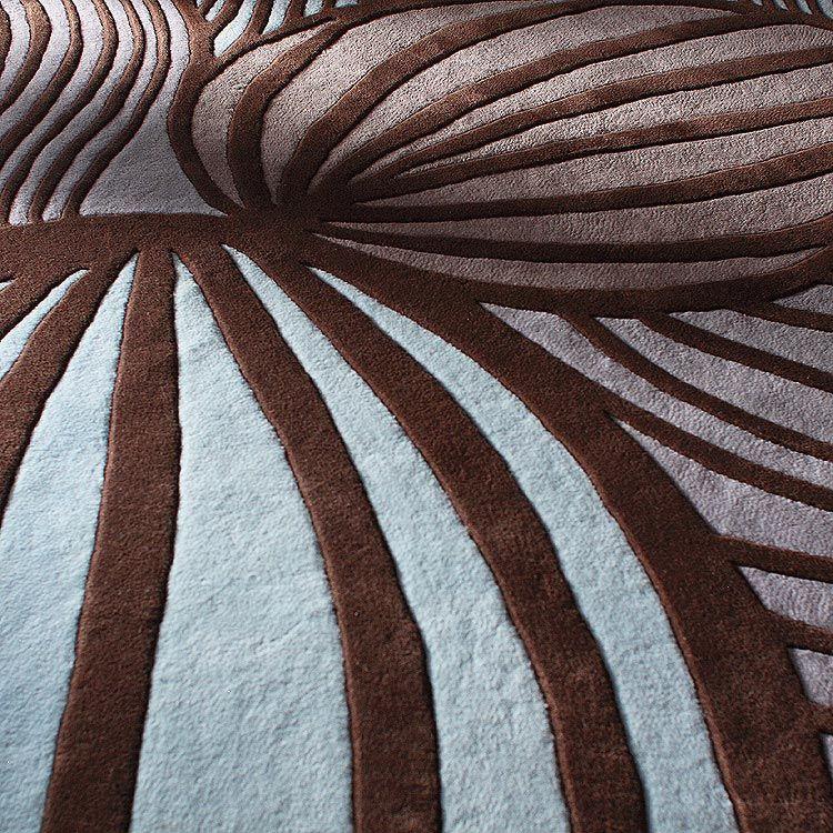 Inhabit - Leaf Wool Rug