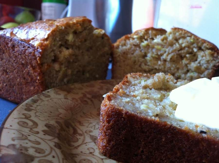 buttermilk bananazucchini bread  recipe  buttermilk