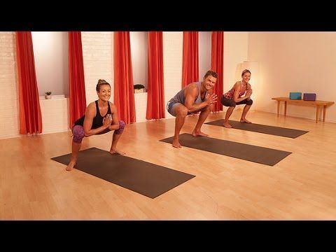 Yoga Fitness Flow - 10 Minutes of Yoga to Kick Your Ass and Tone Your Abs:  Athletic training meets yoga in this flow series that focuses on the core -  hello ...