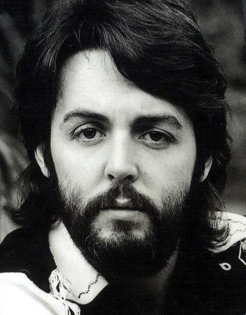 Long Hair And Beard Paul McCartney