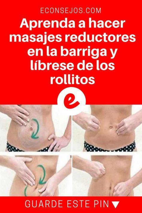 Como adelgazar barriga con masajes