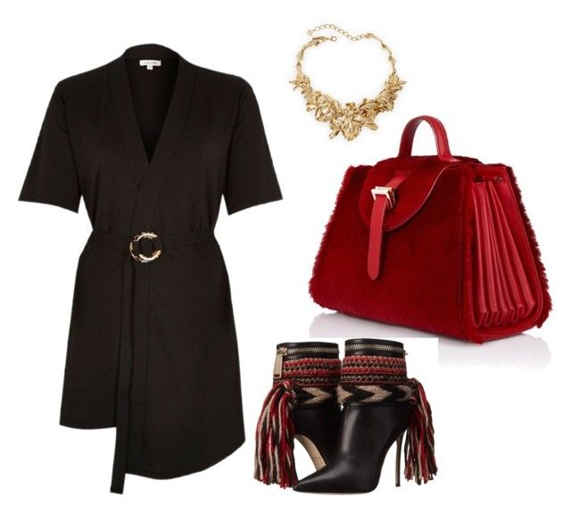"""Untitled #172"" by margaritavzlal on Polyvore featuring River Island, Oscar de la Renta, Meli Melo and Dsquared2"
