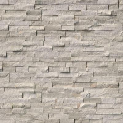 Msi Classico Oak Ledger Panel 6 In X 24 In Natural Marble Wall Tile 10 Cases 60 Sq Ft Pallet Lpnlmcloak624 The Home Depot Marble Wall Tiles Stacked Stone Panels Stone Panels