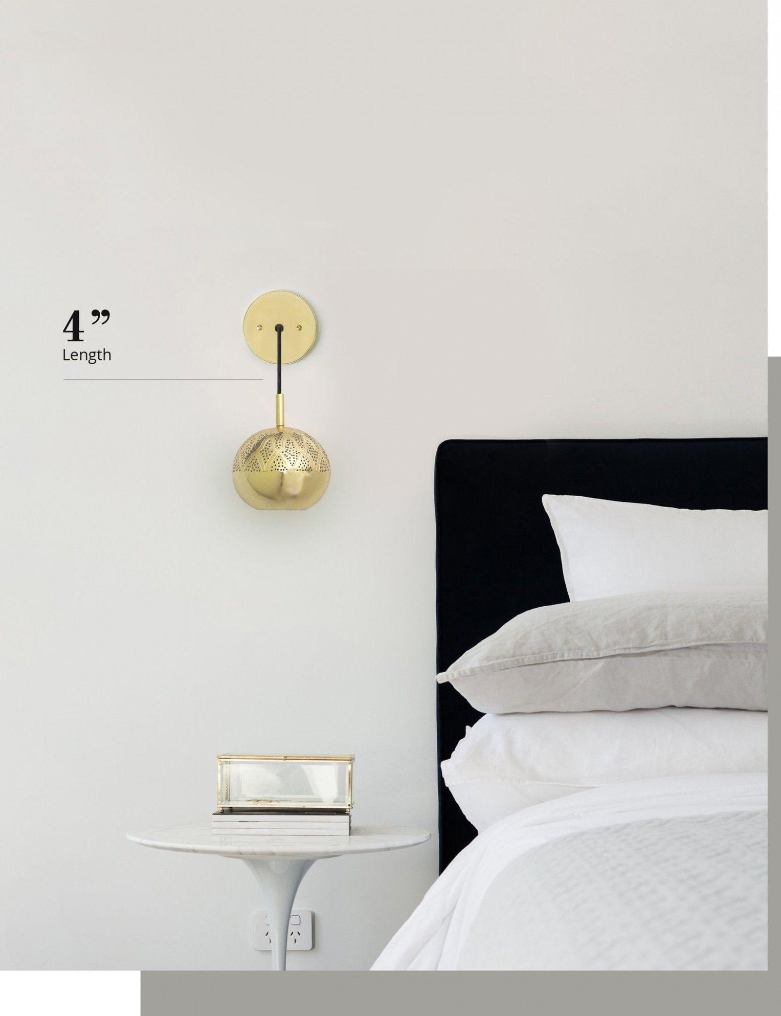 Bedroom Wall Light Height