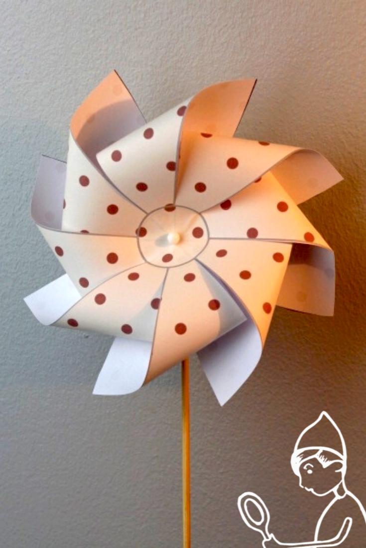 Comment Faire Une Rose Des Vents : comment, faire, vents, MoulinAVent, Vents,, Activité, Manuelle, Papier,, Fabriquer, Moulin
