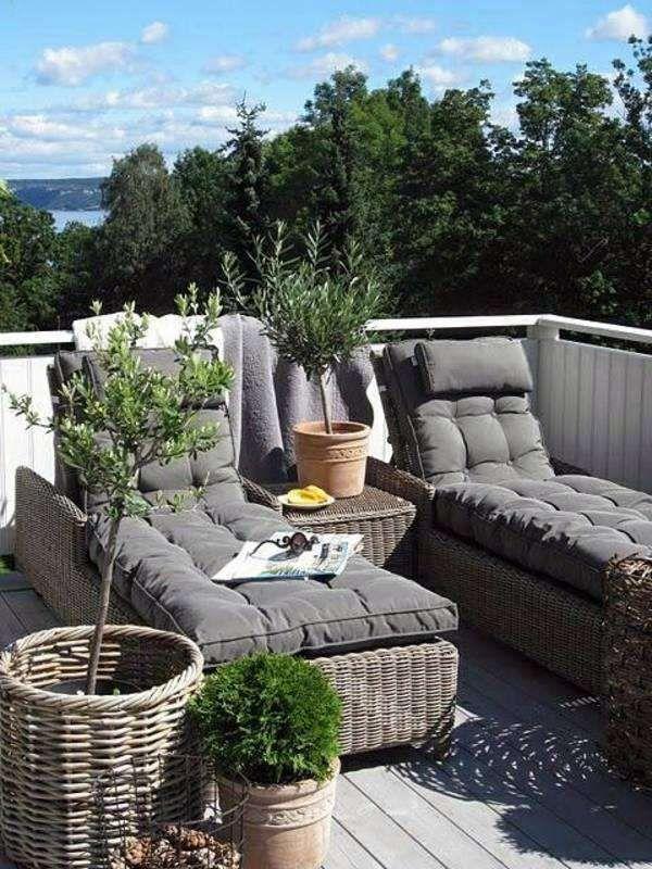 Come progettare una terrazza | Sedie da giardino ...
