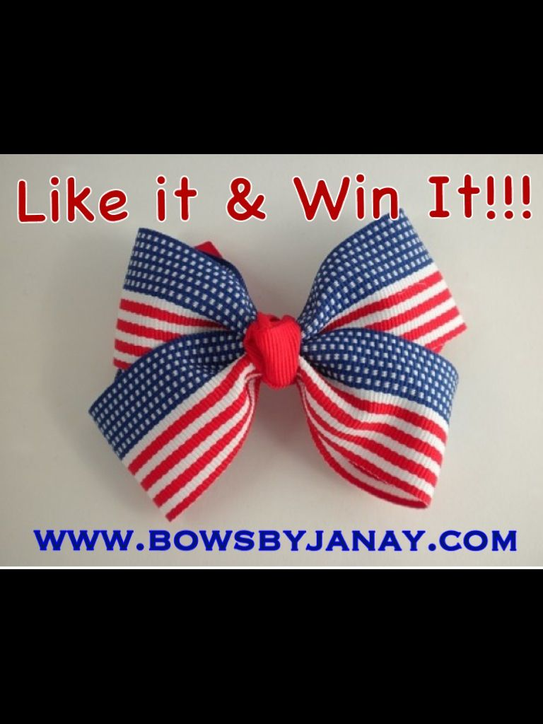 Enter to win at Bows By Janay on Facebook