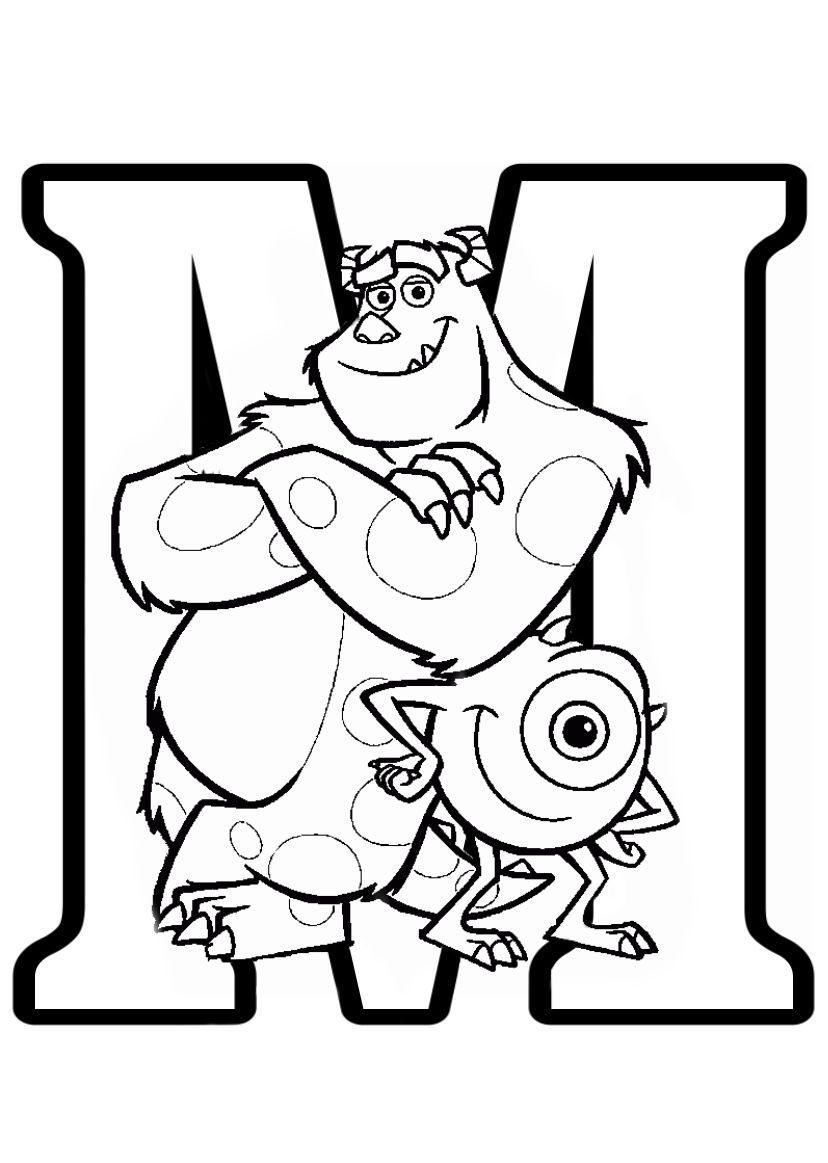 Letter C Coloring Pages Easy In 2021 Monster Coloring Pages Cartoon Coloring Pages Alphabet Coloring Pages [ 1163 x 828 Pixel ]
