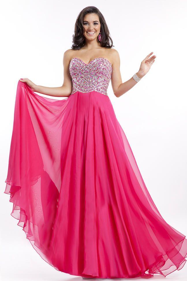 hemsandsleeves.com hot pink dresses (01) #cutedresses   Dresses ...