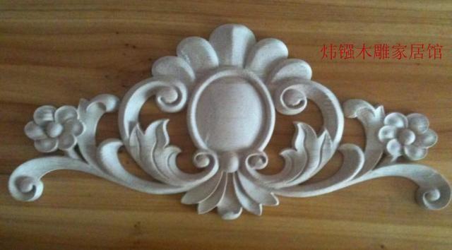 Woodcarving furniture applique door applique european wood take