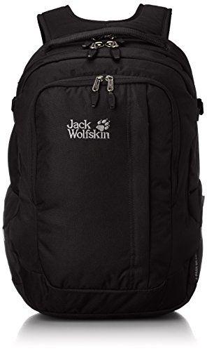 JACK WOLFSKIN RUCKSACK J Pack Deluxe, Daypack, schwarz, J P