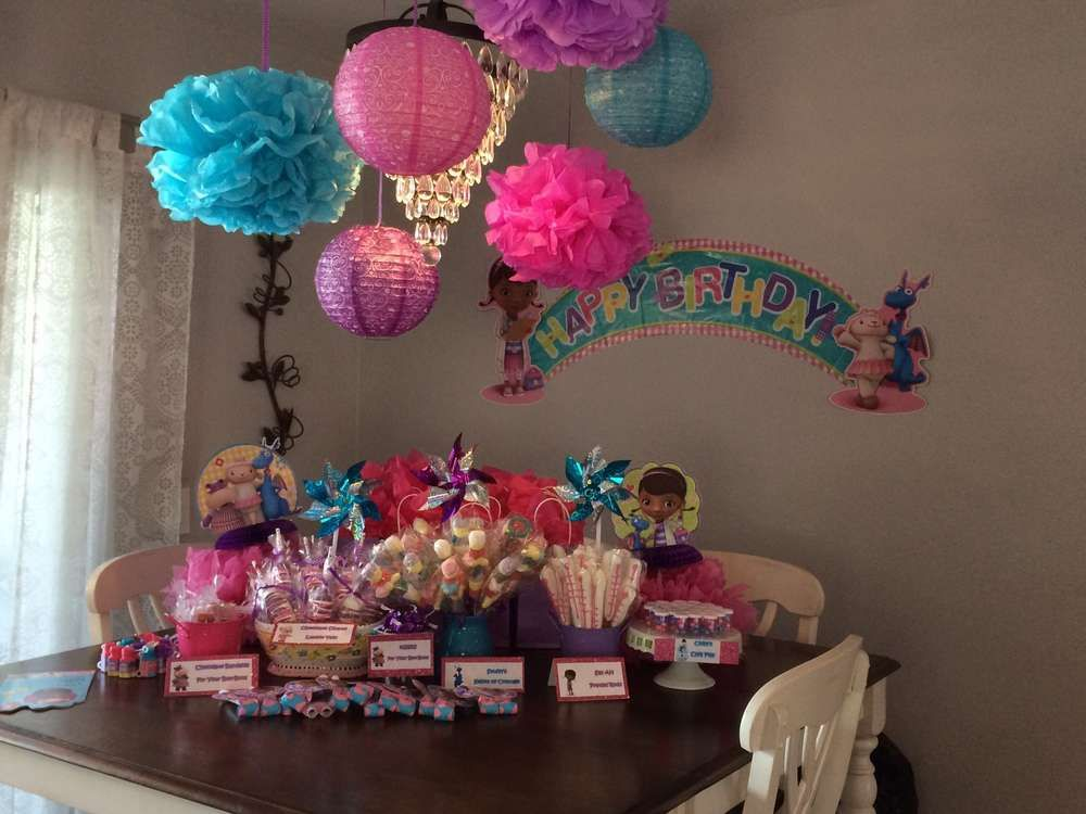 Piper's Doc McStuffins Birthday | CatchMyParty.com