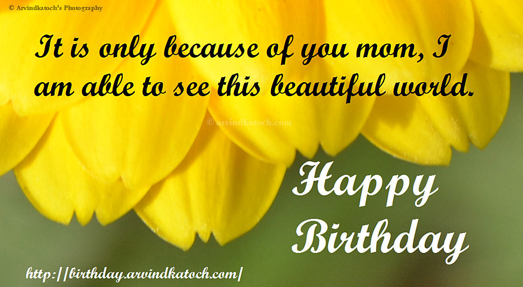 Happy Birthday Mom Cards – Birthday Card Wishes for Mom