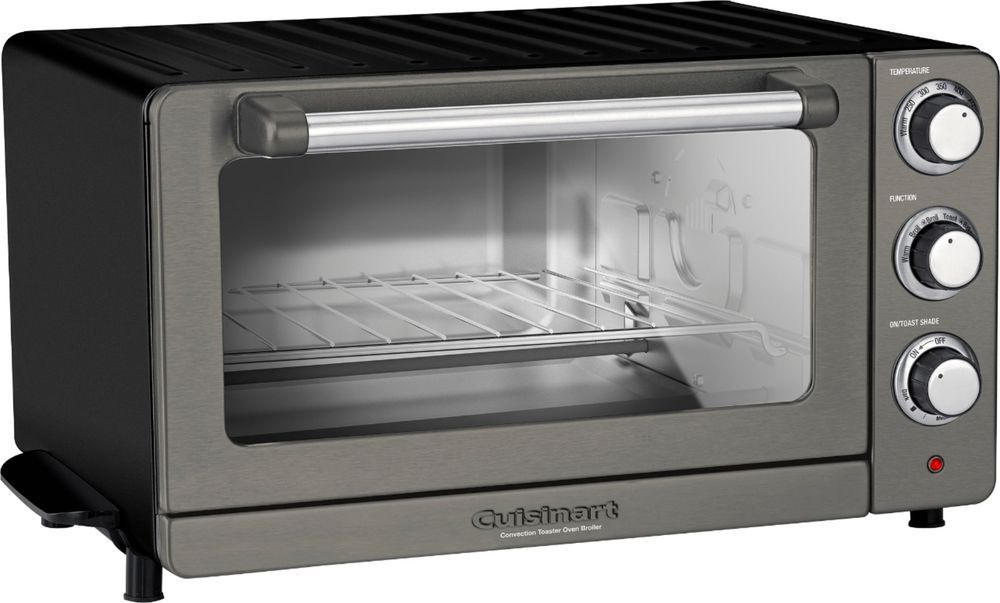 Cuisinart Convection Toaster Pizza Oven Black Stainless Cuisinart Toaster Oven Toaster Oven Convection Toaster Oven