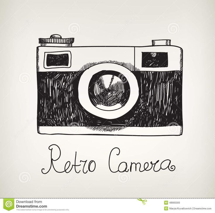 Simple Camera Drawing Tumblr