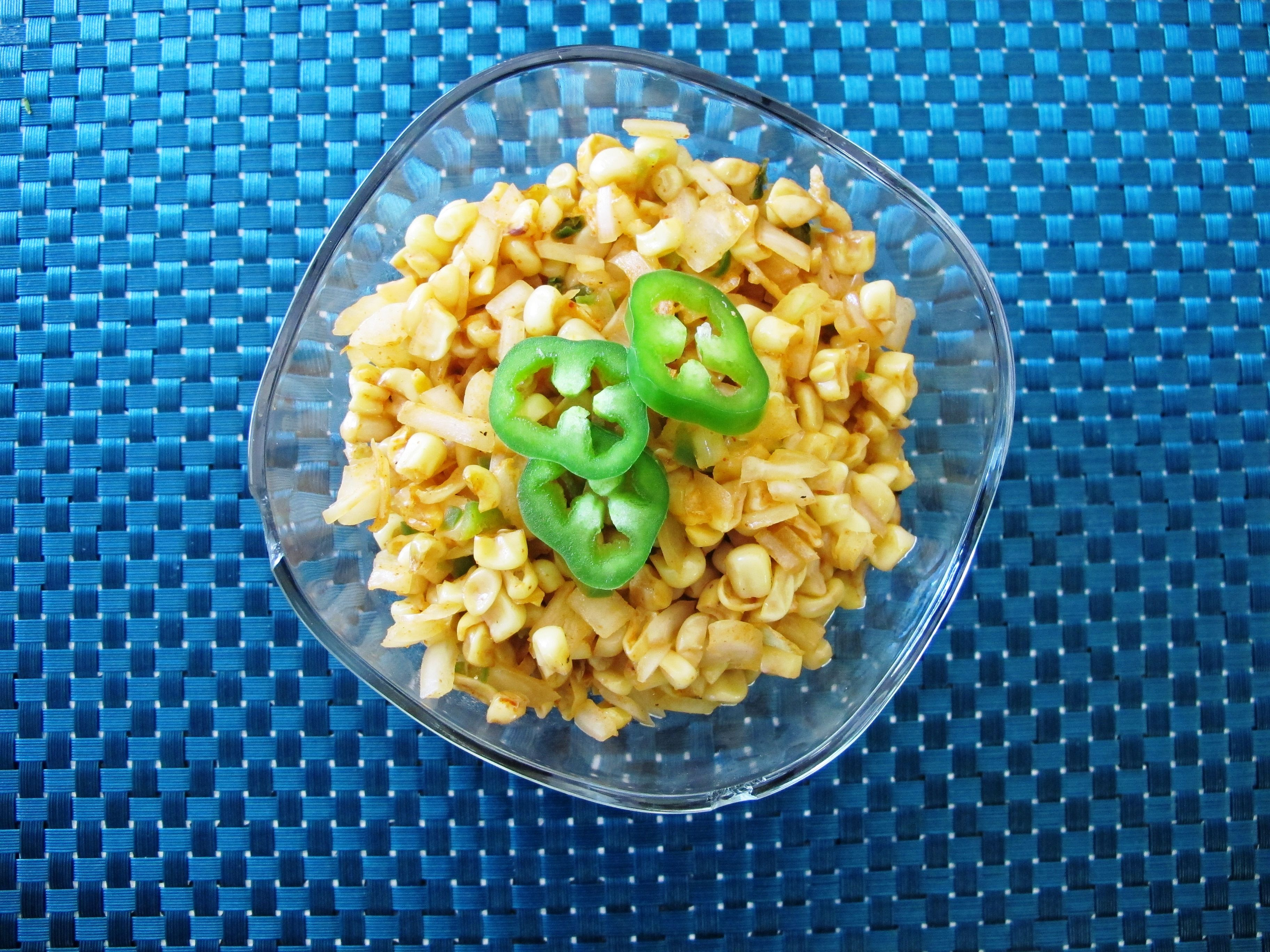 Jalapeno and Roasted Corn Salsa