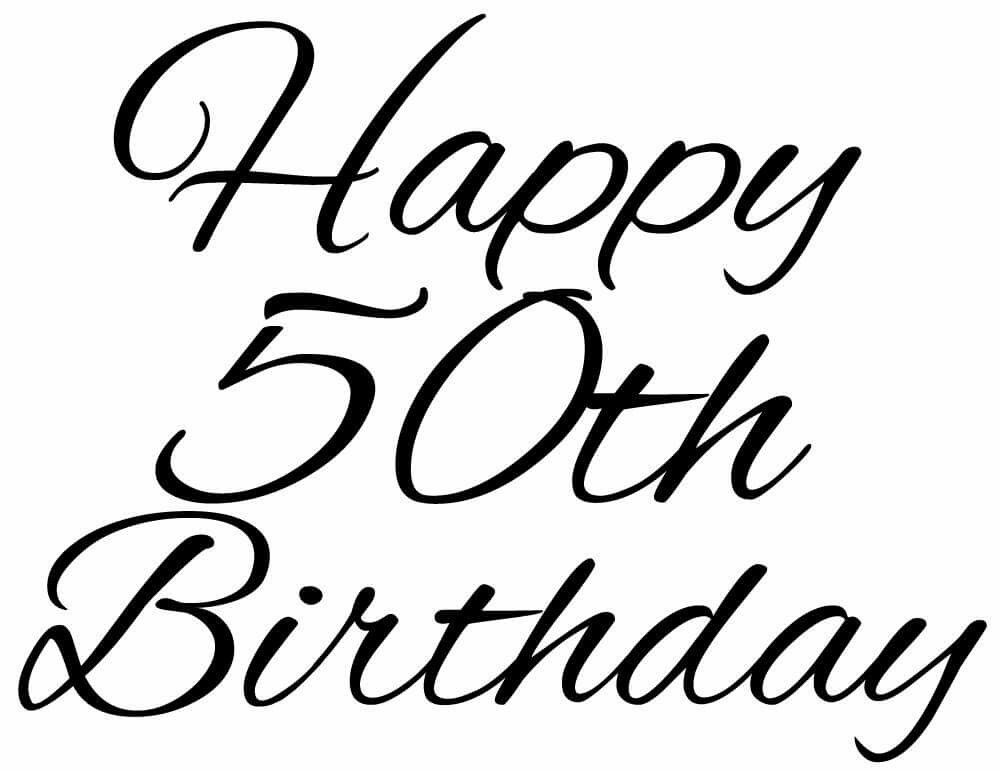 Image Result For Happy 50th Birthday With Men Quotes Happy 50th
