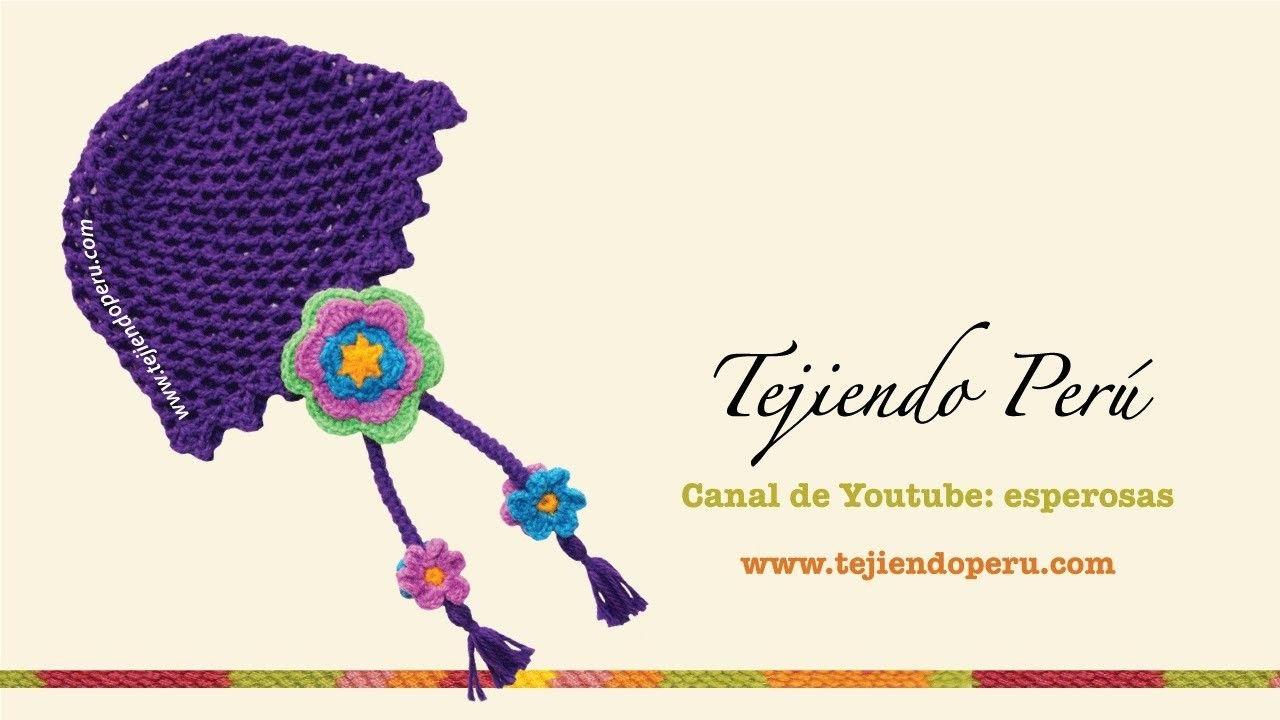 Gorro con flores tejido a crochet | Tejido, Flores y Artesanía