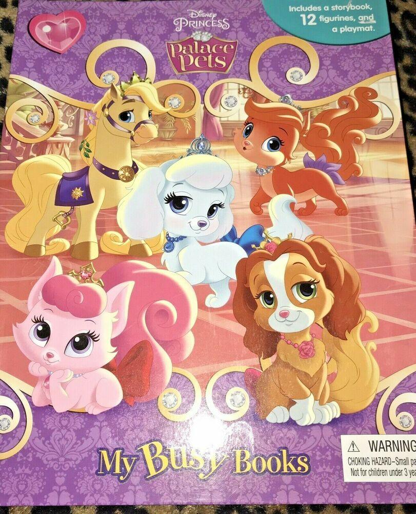 My Busy Books Disney Princess Palace Pets 12 Figures Playmat