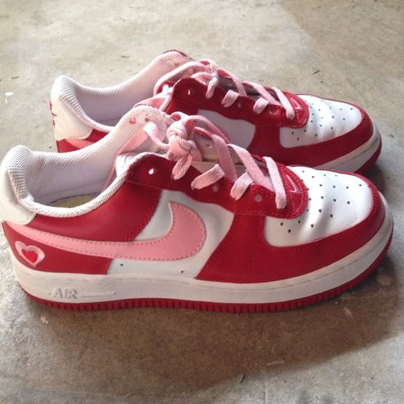 Limited Edition Sweetheart Air Force 1 S Good Condition Worn Once