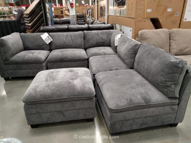 6 Piece Modular Fabric Sectional Costco Modular Sectional Sofa Sofas For Small Spaces Modular Sectional