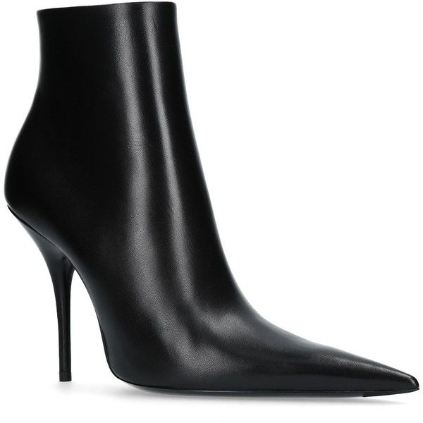 cheap buy authentic huge surprise sale online Balenciaga Woven Pointed-Toe Booties cheap latest finishline sale online TsDjh