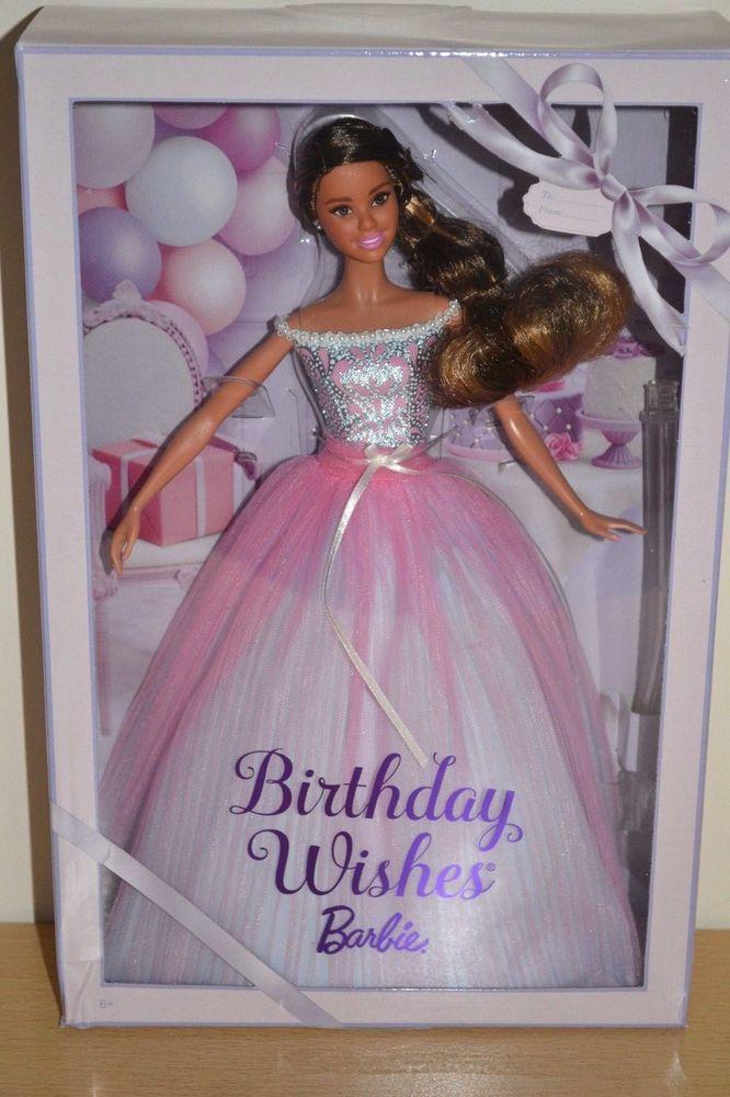 2017 Pink Label Hispanic BIRTHDAY WISHES Barbie
