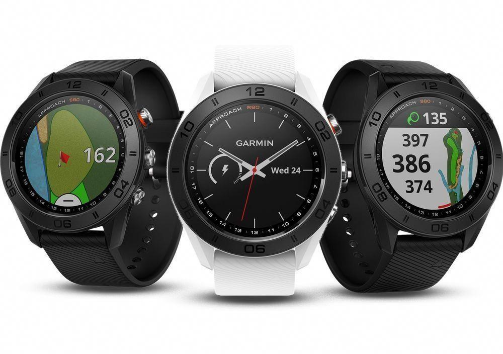 Garmin Approach S60 Golf GPS Watch Black White or