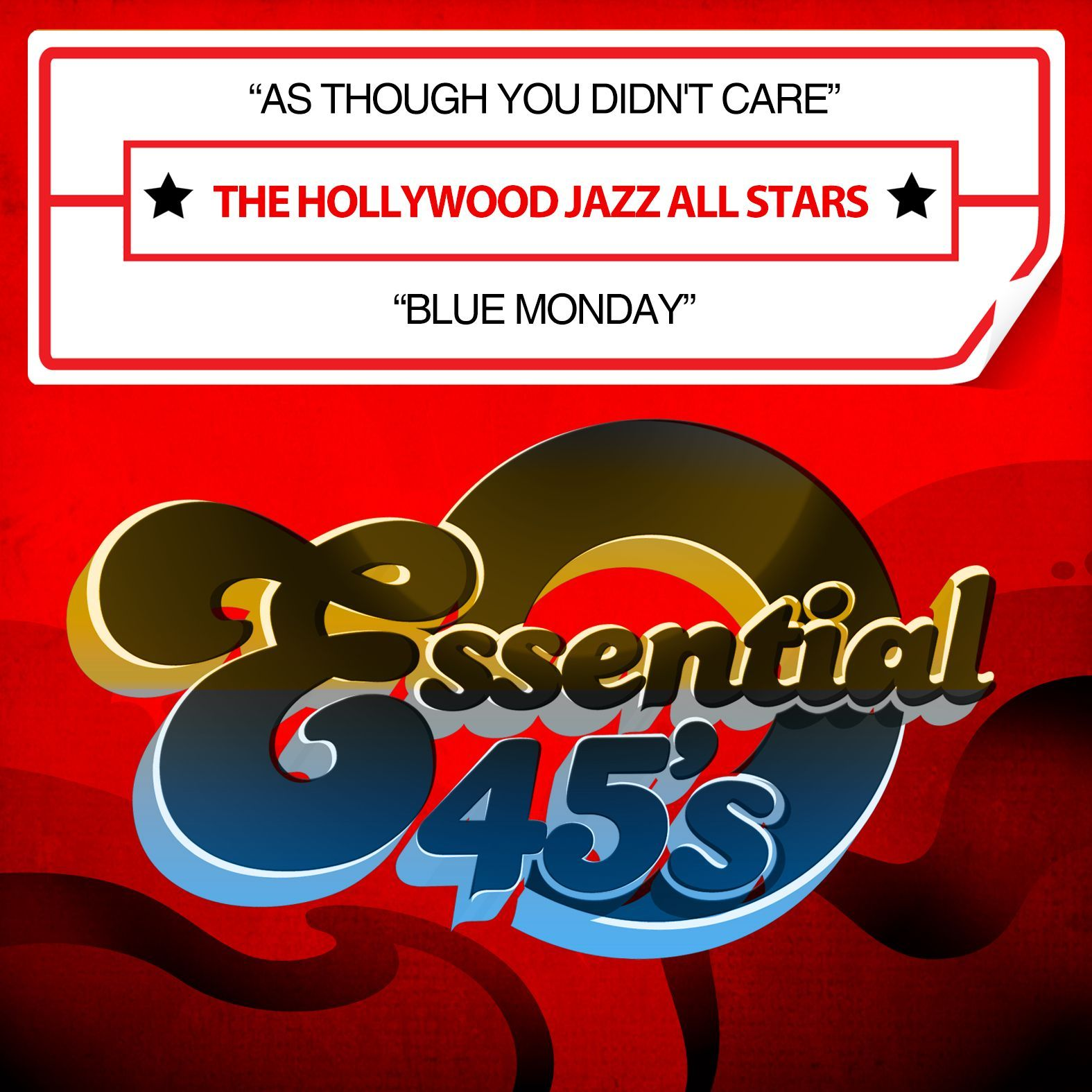 Hollywood Jazz All Stars - As Though You Didn't Care / Monday