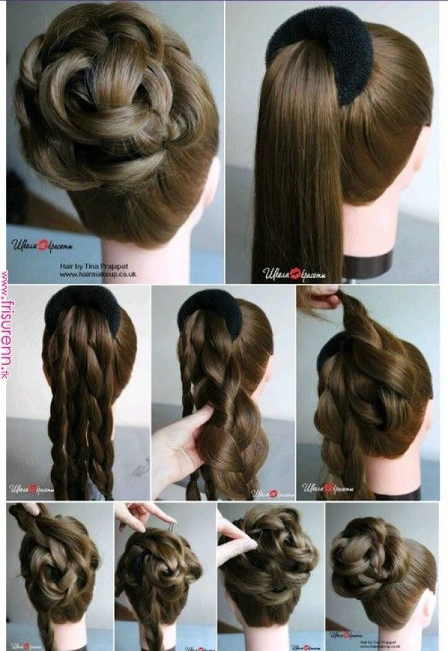 Foto Hairstyle By Sklemina Tatiana The Art Of Hair Design Images Hair Academy Www Facebook Com Hairacad Easy Hairstyles Easy Hairstyles For Long Hair Hairstyle