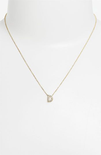 Nadri initial pendant necklace nordstrom accessoriesjewelry nadri initial pendant necklace nordstrom aloadofball Image collections
