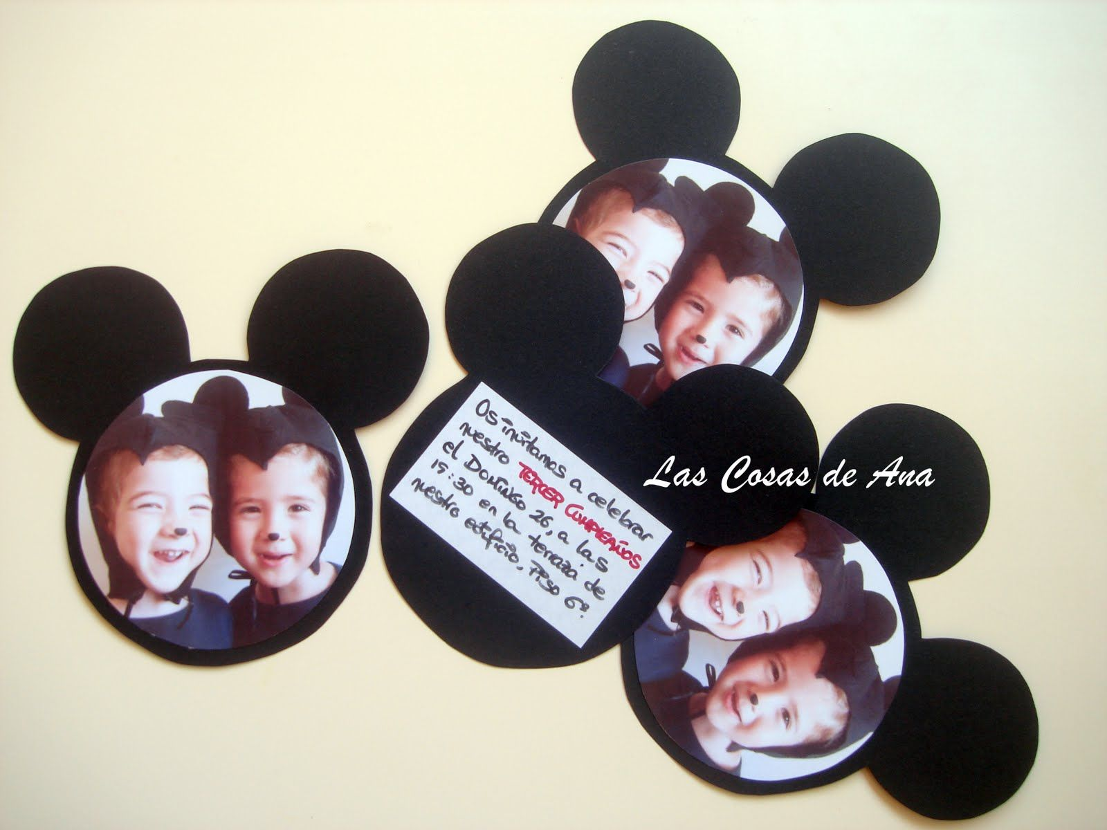 idea para cumpleaos tarjeta de cumpleaos invitacin para fiesta de cumpleaos mickey mouse