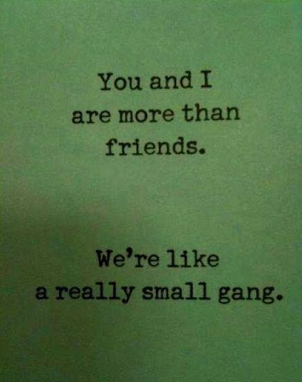 Gangsters.