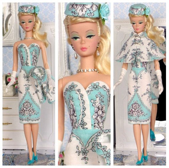 Tiffany for Silkstone Barbie, Poppy Parker & Victoire Roux