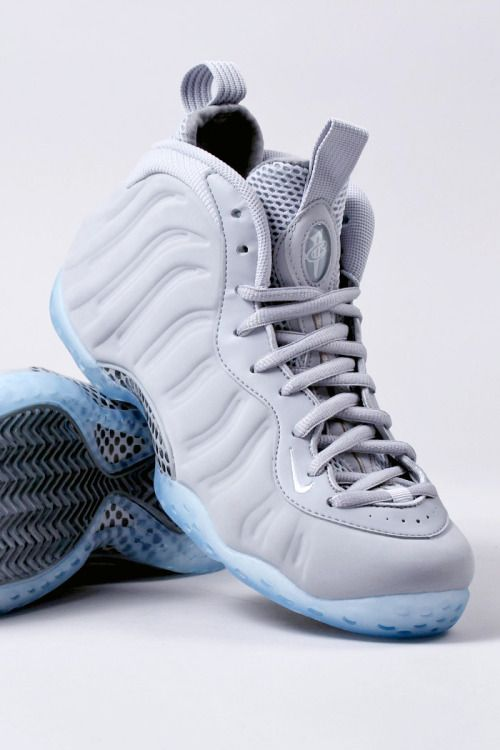 save off 87d9d f2bd4 NIKE AIR FOAMPOSITE ONE PRM  WOLF GREY WHITE  (via Kicks-daily.com)