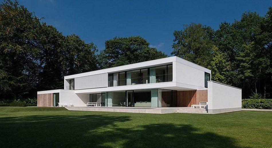 Jolie maison contemporaine dans la périphérie de bruges belgique